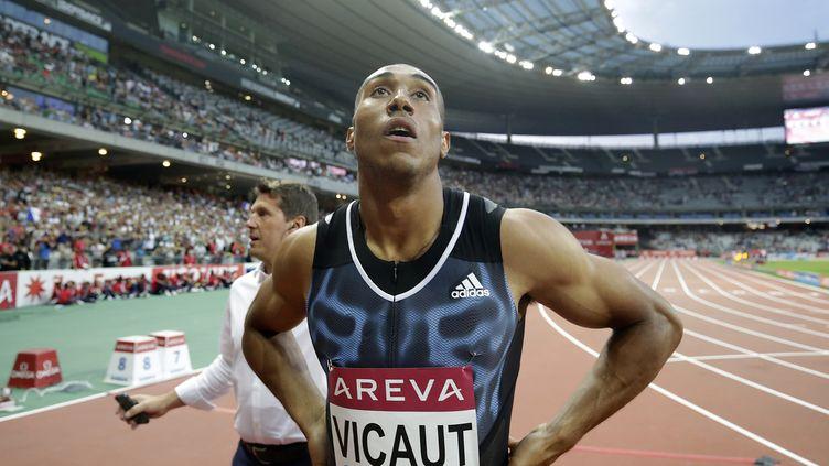 Le sprinter français Jimmy Vicaut  (KENZO TRIBOUILLARD / AFP)