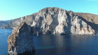 L'une des îles Éoliennes en Italie (CAPTURE ECRAN FRANCE 2)