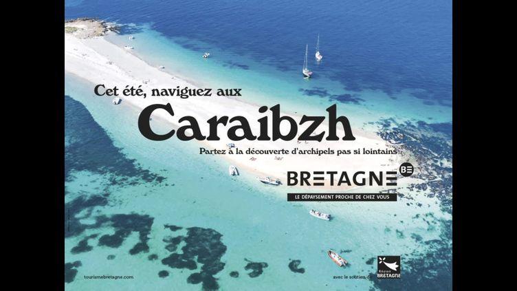 Une campagne de promotion pleine d'humour pour relancer le tourisme en Bretagne (Conseil Régional de Bretagne)