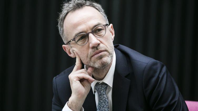 Emmanuel Grégoire, premier adjoint à la maire de Paris, le 5 mars 2020. (VINCENT ISORE / MAXPPP)