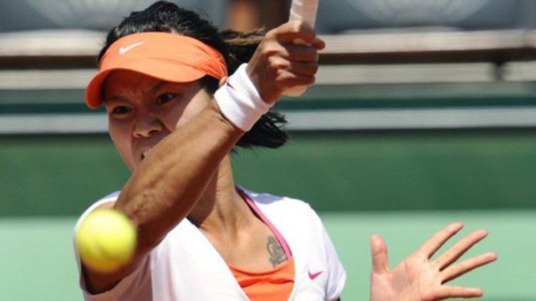 La Chinoise Na Li, finaliste à l'Open d'Australie en début d'année et désormais à Roland-Garros