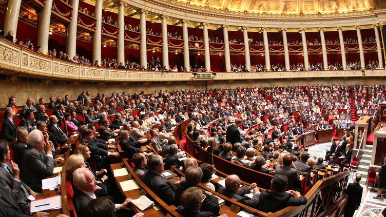 Les députés de la dernière législature assistent à la séance d'ouverture de session parlementaire, le 26 juin 2007. (THOMAS COEX / AFP)