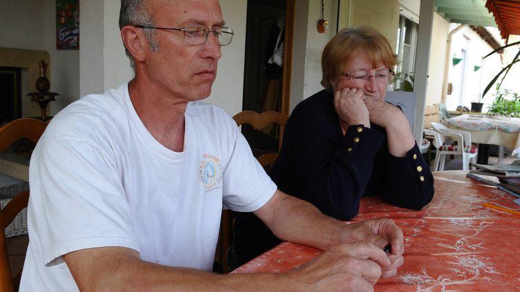 Gilles Patron, (le 11 avril 2011 sur la photo) l'ancien père d'accueil de Laetitia Perrais,va être mis en liberté surveillée le 4 mai 2012. (FRANCK DUBRAY / OUEST FRANCE / MAXPPP)