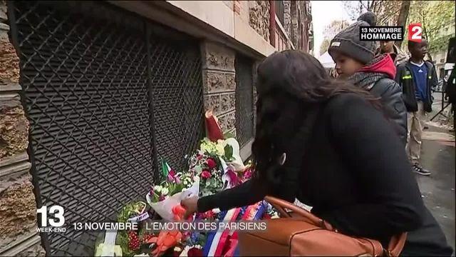 Attentats du 13-Novembre : l'émotion des Parisiens
