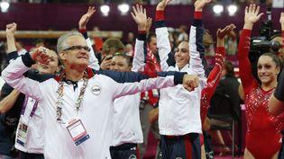 John Geddert aux Jeux olympique de Londres en 2012 (- / AFP)