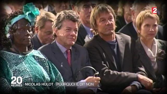 Remaniement du gouvernement : Nicolas Hulot refuse d'y entrer