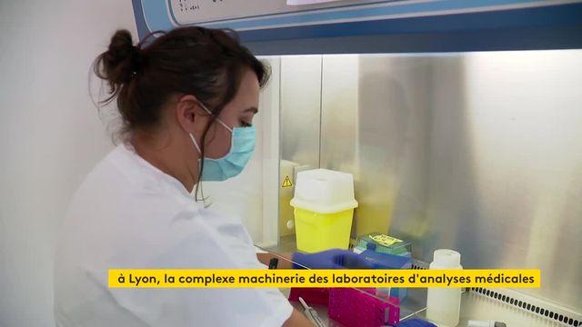Covid-19 : itinéraire d'un test PCR à Lyon