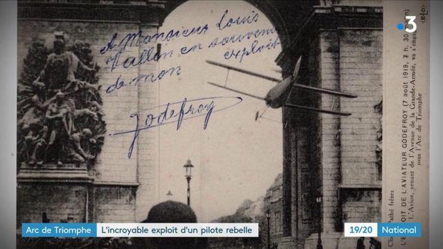 Aviation : l'incroyable exploit du pilote qui a volé sous l'Arc de triomphe