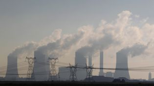 La centrale électrique au charbon de Lethabo, à 70 km de Johannesburg (Afrique du Sud), le 27 novembre 2011. (SPIPHIWE SIBEKO / REUTERS)