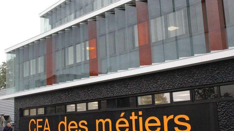 Le centre de formation d'apprentis (CFA) des métiers de Châteauroux (Indre), 22 octobre 2019 (illustration). (MANON KLEIN / FRANCE-BLEU BERRY)