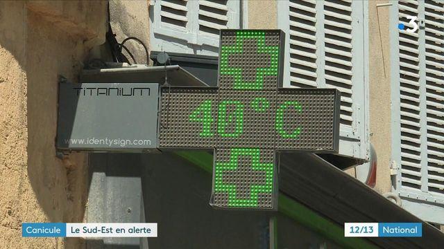 Canicule : le sud de la France touché par de fortes chaleurs