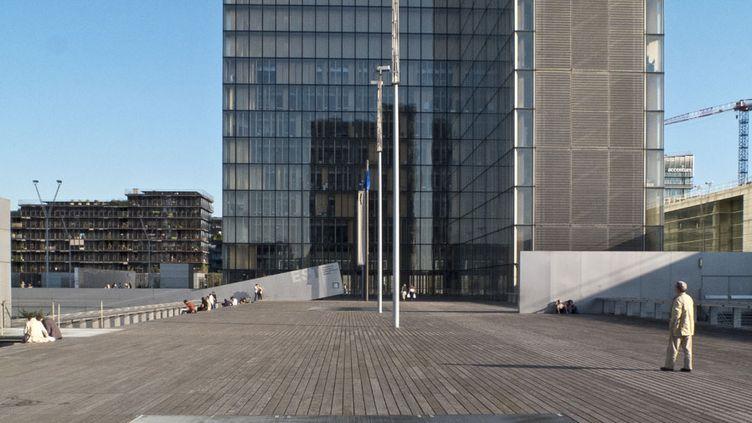 La Bibliothèque nationale de France, site François Mitterrand  (Guy Bouchet / Photononstop / AFP)