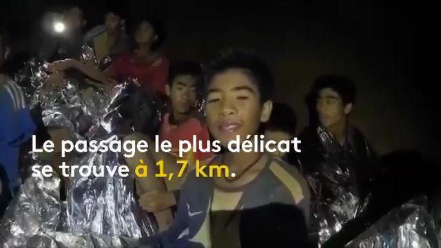 L'évacuation des adolescents coincés dans une grotte en Thaïlande depuis plus de deux semaines est une mission semée d'embûches.