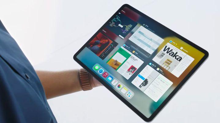 Le Shelf, le nouvel espace pour gérer le multitâche sur iPad. (APPLE)