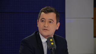 Le Ministre de l'action et des comtpes publics propose une enveloppe de 14 millions d'euros aux douaniers, mobilisés depuis une dizaine de jours. (JEAN-CHRISTOPHE BOURDILLAT / FRANCE-INFO)