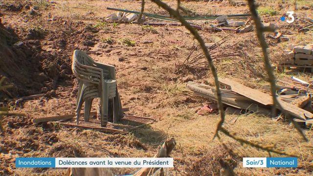 Inondations dans l'Aude : Emmanuel Macron attendu par les maires