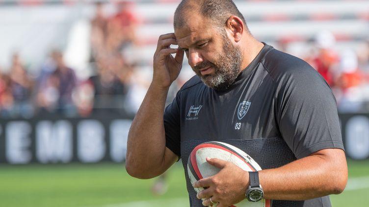 Patrice Collazo, l'entraîneur du RCT (CHRISTOPHE SIMON / AFP)