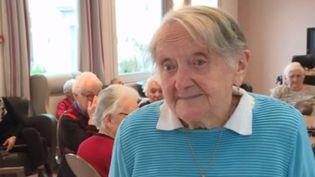 Pour l'initiative de ce week-end, le 12/13 vous emmène à la rencontre d'une femme exceptionnelle dans un Ehpad d'Aurillac, dans le Cantal. A bientôt 100 ans, Marcelle est bénévole et hyperactive. (France 3)