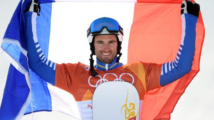 Pierre Vaultier remportant sa 2e médaille d'or olympique. (PHILIPPE MILLEREAU / DPPI MEDIA)