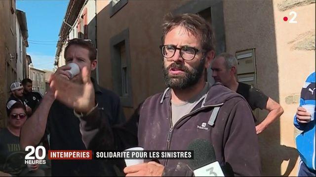 Intempéries : solidarité pour les sinistrés