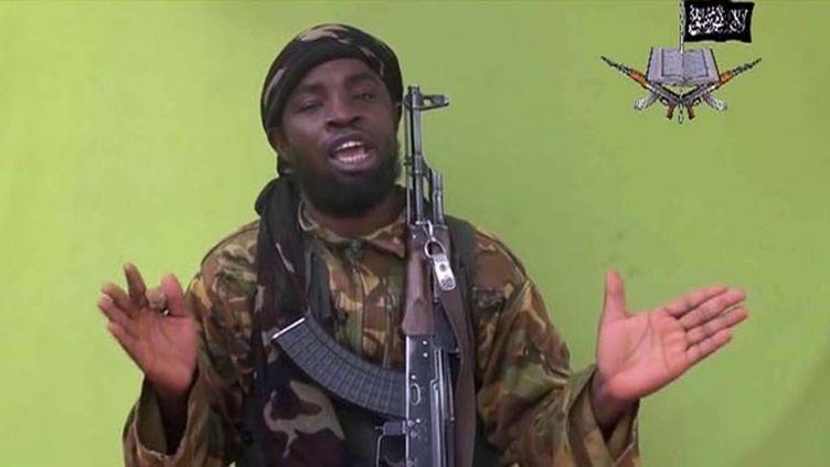 (Abubakar Shekau, le leader de Boko Haram dans une vidéo d'avril dernier © AP/SIPA)