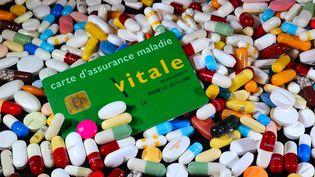 """Agnès Buzyn a présenté une""""feuille de route du numérique en santé"""", le25 avril2019, qui prévoit le lancement d'une""""appli carte Vitale"""".(photo d'illustration) (PHILIPPE HUGUEN / AFP)"""
