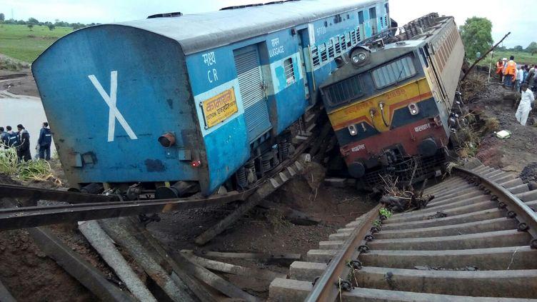 Vingt-sept personnes sont mortes dans le déraillement de deux trains à Harda, dans l'Etat du Madhya Pradesh (Inde), le 5 août 2015. ( 20TH CENTURY FOX/PARAMOUNT / THE KOBAL COLLECTION / AFP)