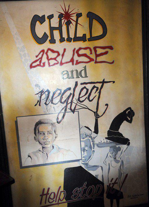 Août 2013. Campagne dans la ville d'Enugu contre le trafic des enfants. (Photo AFP)