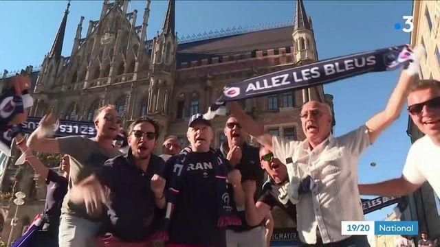 France-Allemagne : les supporters français ont fait le déplacement