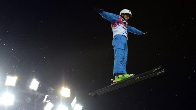 Anton Kushnir roi du ski acrobatique (JAVIER SORIANO / AFP)