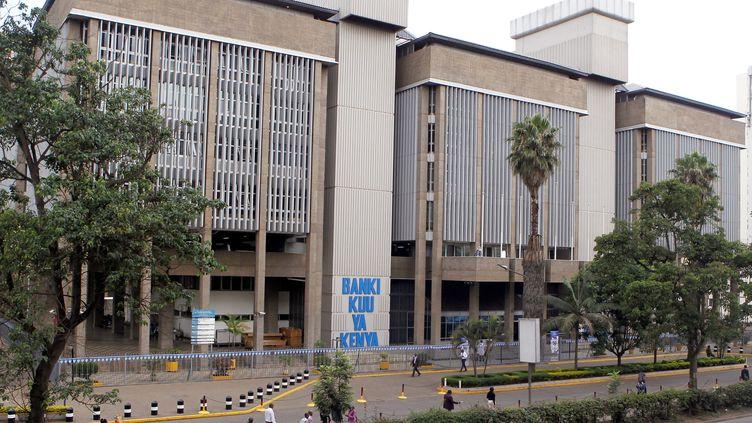 Une vue générale du siège de la Banque centrale du Kenya, le long de l'avenue Haile Selassie à Nairobi, le 28 novembre 2018. (NJERI MWANGI / REUTERS)