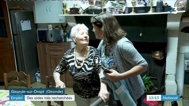 Emploi : les profils d'aide à domicile sont très recherchés