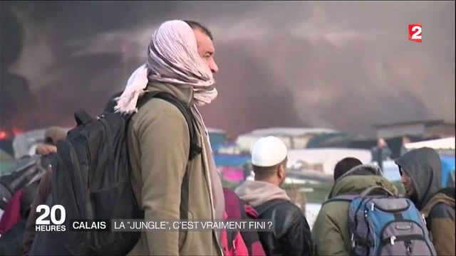 Calais : l'évacuation du camp est terminée