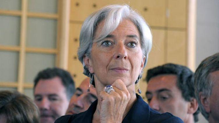 Christine Lagarde (28 juin 2010) (AFP/ERIC PIERMONT)