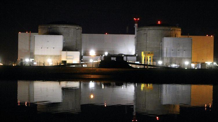 (La centrale nucléaire de Fessenheim est la plus vieille du parc français © MAXPPP)