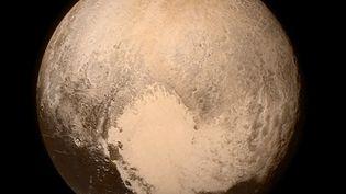 Une face de Pluton photographiée par la sonde New Horizons, le 11 juillet 2015. ( NASA / AFP )