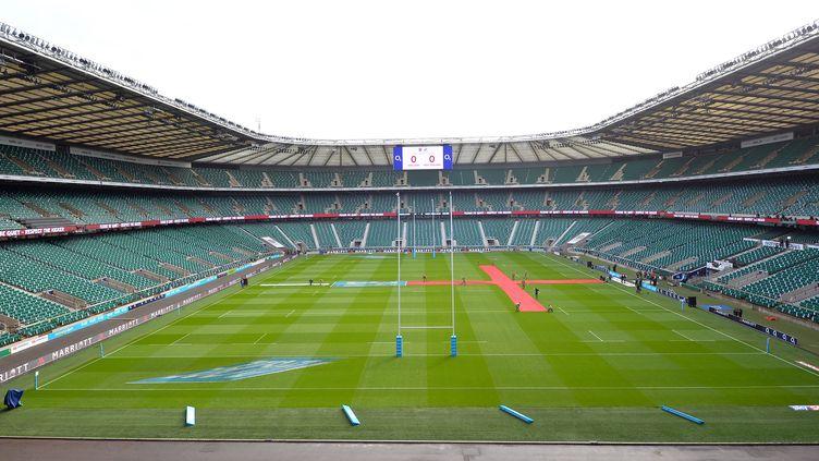 Le stade de Twickenham risque de ne pas faire le plein pour la finale de Champions Cup  (GLYN KIRK / AFP)