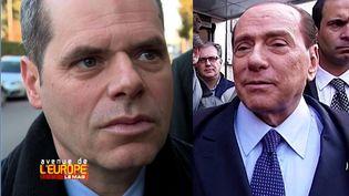 Avenue de l'Europe. Un documentaire en préparation sur Berlusconi (FRANCE 3 / FRANCETV INFO)