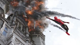 """Tom Holland dans """"Spider-Man: Far From Home"""" de John Watts (Copyright Sony Pictures)"""
