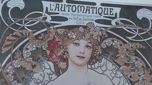 Publicité pour du papier photographique. Affiche réalisée par Alfons Mucha  (FineArtImages/Leemage)