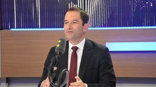 Benoit Hamon,candidat à la primaire du PS, ancien ministre et député socialiste des Yvelines (Jean-Christophe Bourdillat / Radio France)