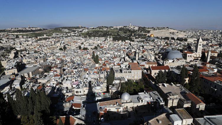 Photo d'illustration de Jérusalem le 14 mars 2018 (THOMAS COEX / AFP)