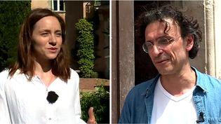"""Dans le OFF d'Avignon, Laurent Natrella met en scène """"Une si longue attente"""" et Delphine Depardieu joue dans """"Le Dernier baiser de Mozart""""  (France 3 / Culturebox)"""