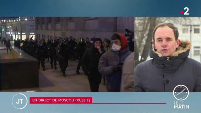 Russie: la France et des pays occidentaux demandent la libération immédiate d' Alexeï Navalny, condamné à de la prison ferme