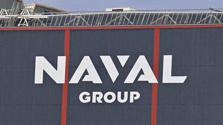 Le siège de Naval Group, à Cherbourg, dans la Manche. (THOMAS BRÉGARDIS / OUEST-FRANCE / MAXPPP)