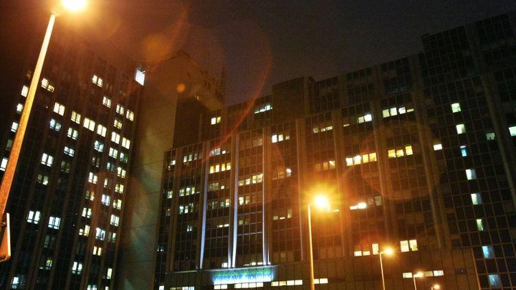 La facade de l'institut de cancérologie Gustave Roussy à Villejuif lors de l'inauguration d'une nouvelle structure de recherche intégrée, le 03 novembre 2009. (JOEL SAGET / AFP)