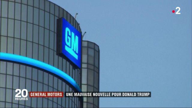 General Motors : une mauvaise nouvelle pour Donald Trump
