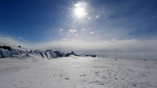 La banquise de la mer de Ross, en Antarctique, le 12 novembre 2016. (AFP)