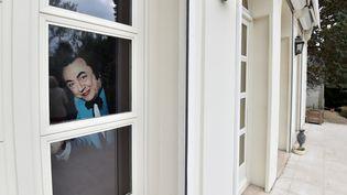 Un portrait de Devos accueillera les visiteurs  (Alain Jocard/AFP)