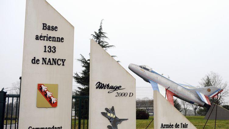 Sept des neuf victimes françaises tuées dans le crash d'un avion de chasse en Espagne venaient de la base aérienne de Nancy (Meurthe-et-Moselle). (JEAN-CHRISTOPHE VERHAEGEN / AFP)